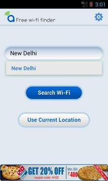 Free WiFi Finder poster