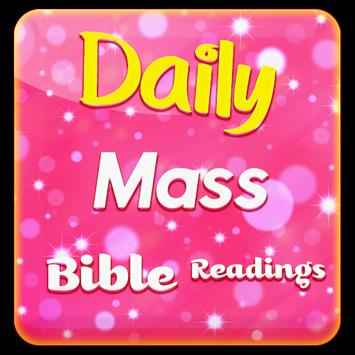 Daily Mass Bible Readings poster