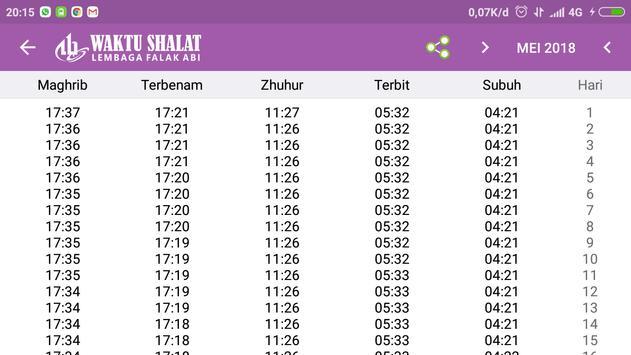 Waktu Shalat Falak ABI screenshot 5