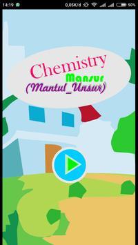 ChemMansur (Chemistry Mantul Unsur) poster