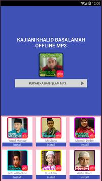 Kajian Khalid Basalamah Offline Mp3 poster