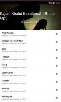 Kajian Khalid Basalamah Offline Mp3 screenshot 1