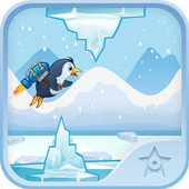 Floppy Super jetPenguin Game icon