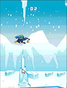 Floppy Super jetPenguin Game screenshot 1