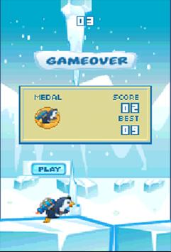 Floppy Super jetPenguin Game screenshot 2