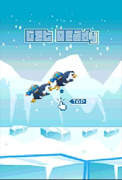 Floppy Super jetPenguin Game screenshot 3