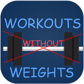 Workouts No-Weights icon