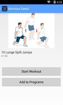 Workouts No-Weights screenshot 3