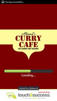 Ahmeds Curry Cafe poster