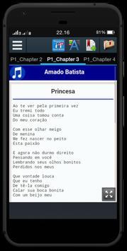 Letras Musica Amado Batista apk screenshot