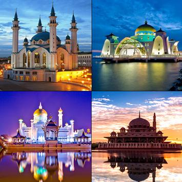 Wonderful Mosques Wallpapers poster