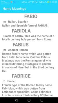 Name Meaning poster