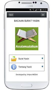 Surah Yasin poster