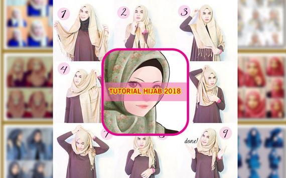Tutorial Hijab 2018 screenshot 1