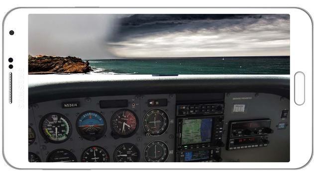 Airplane Pilot Simulator 3D poster