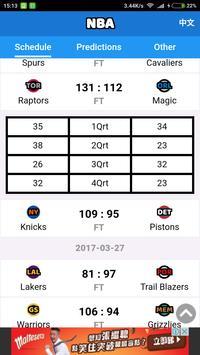 NBA Forecast screenshot 2