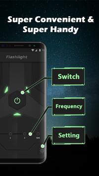 Super Bright LED Flashlight poster