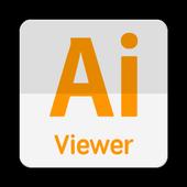 Ai illustrator viewer icon