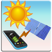 AI Solar Battery Charger, saver and booster prank icon