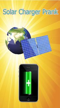 AI Solar Battery Charger, saver and booster prank poster