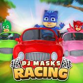 PJ GO Masks Car Racing icon