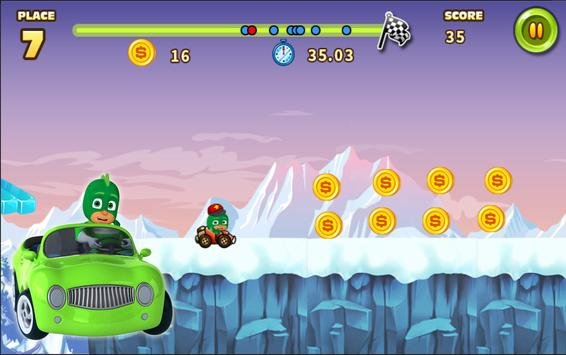PJ GO Masks Car Racing screenshot 4