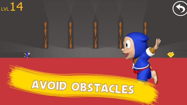 Clumsy Nin Escape: Ninja Game screenshot 2