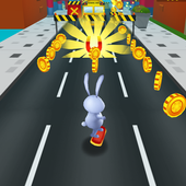 Bunny Rush: Gold Run 3D Game icon