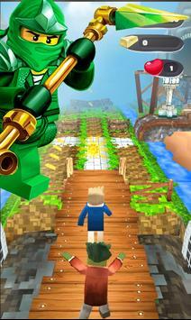 Subway Ninja Lego Surf screenshot 1