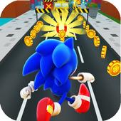 Sonic Halloween Jump: Run & Dash Subway Surf 3D icon