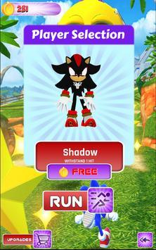 Sonic Halloween Jump: Run & Dash Subway Surf 3D poster