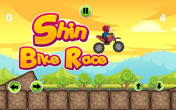 Shin Chon Bike Race Game FREE poster