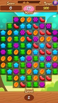 Sweet Jelly Crush Candy screenshot 6