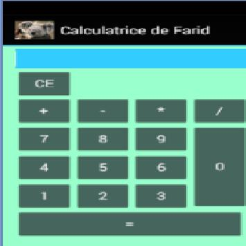 CalculatricedeFarid poster