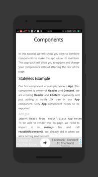 Learn React JS Free EBook screenshot 2