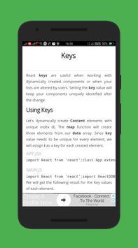 Learn React JS Free EBook screenshot 4