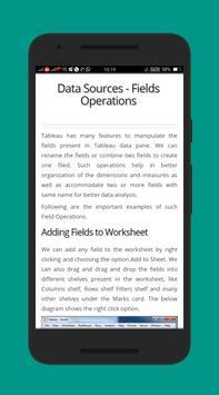 Learn Tableau Free EBook screenshot 2