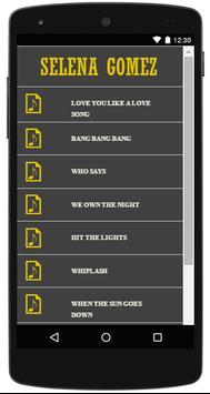 Selena Gomez Lyrics Complete screenshot 3
