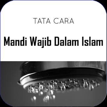 Cara mandi wajib dalam islam poster