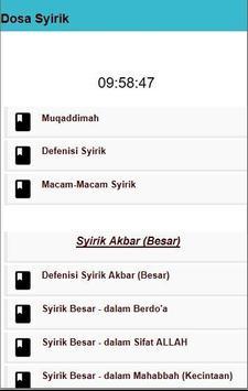 Tentang Syirik apk screenshot