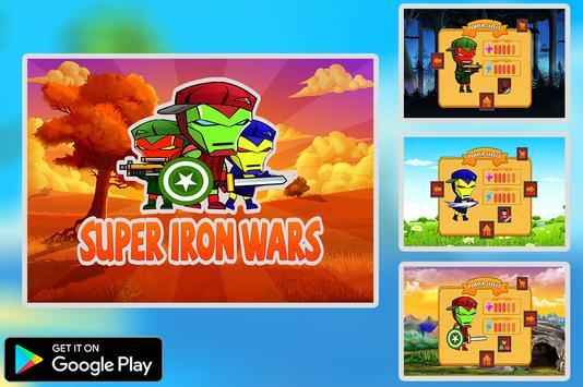 Super Iron Wars poster