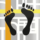 Footprints icon
