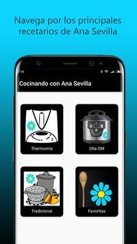 Cocinando con Ana Sevilla poster