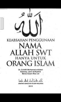 Penggunaan Nama ALLAH SWT screenshot 1