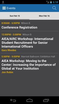 AIEA 2015 Annual Conference screenshot 2