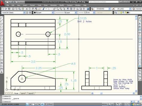 Learn AutoCAD 2009 Manual screenshot 8