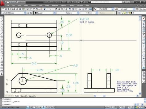 Learn AutoCAD 2009 Manual screenshot 2