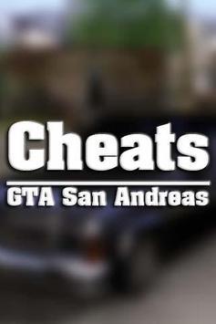 Cheats GTA San Andreas poster