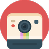 Polaroid Photo Portrait icon