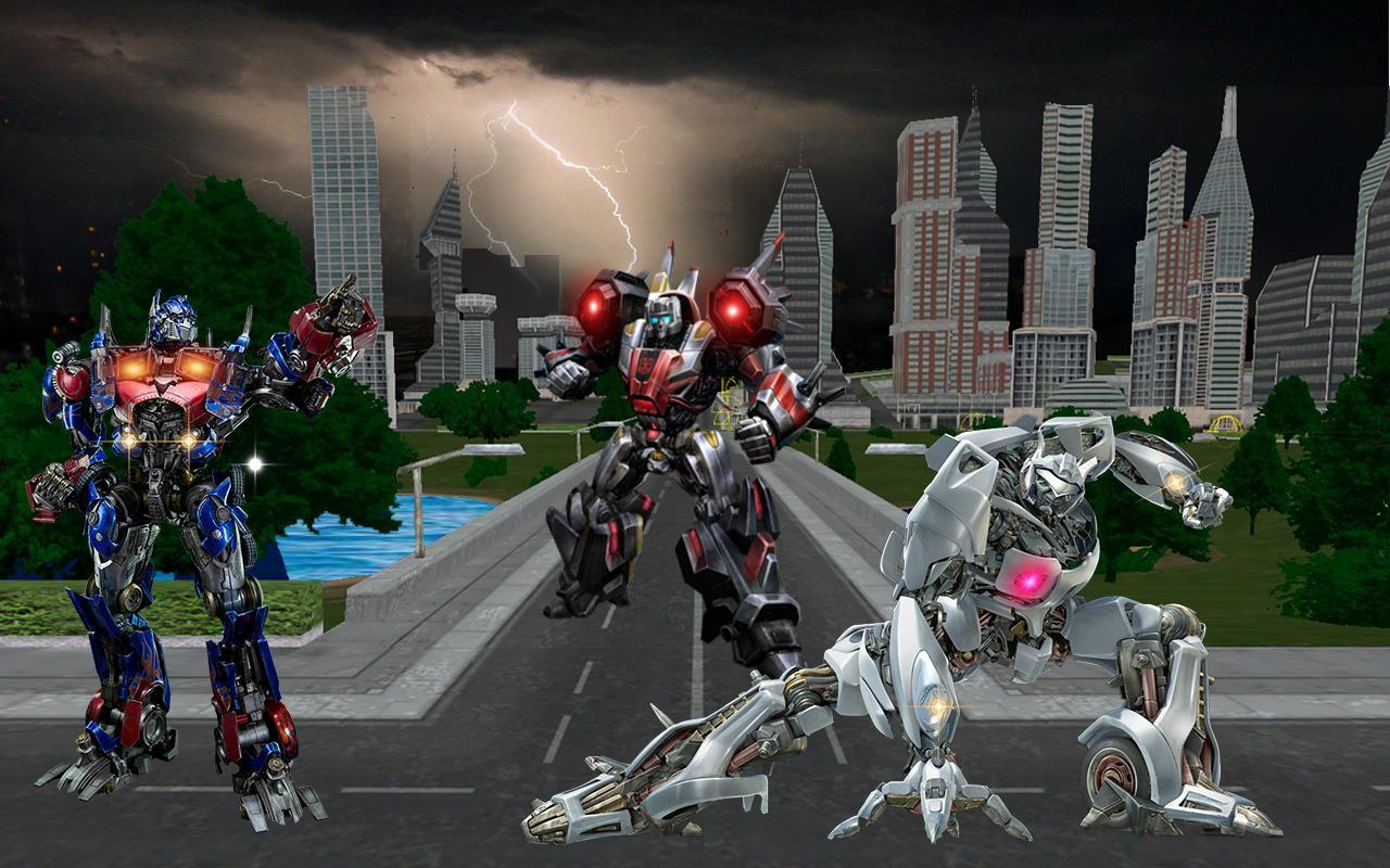 Real Robot Transformers War 3D for Android - APK Download
